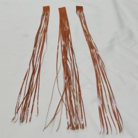 Tiras de piel para bordar piñas